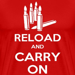 Reload and Carry On T-Shirts - Men's Premium T-Shirt
