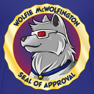 Design ~ Wolfie McWolfington Seal of Approval Kid's Sizes
