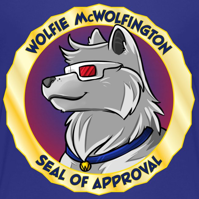 Wolfie McWolfington Seal of Approval Kid's Sizes