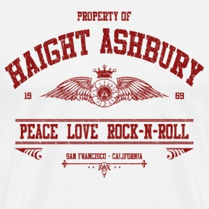 PROPERTY OF HAIGHT ASHBURY T-Shirts - Men's Premium T-Shirt