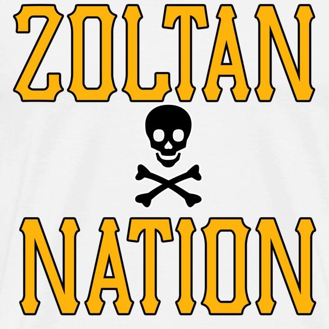 Zoltan Nation Mens Heavy White