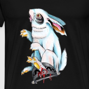 Trapped Rabbit T-Shirts - Men's Premium T-Shirt