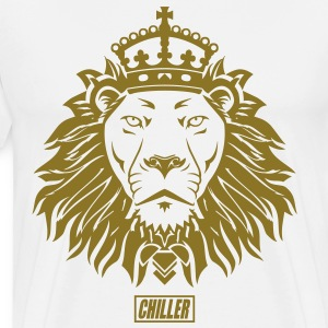 Chiller The King Lion T-Shirts - Men's Premium T-Shirt