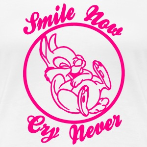 Smile Now Cry Never - Women's Premium T-Shirt