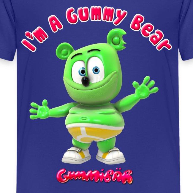 the official gummibär t shirt shop im a gummy bear kids shirt