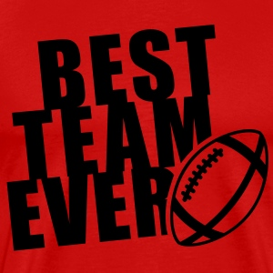 BEST FOOTBALL TEAM EVER T-Shirt BR - T-shirt premium pour hommes