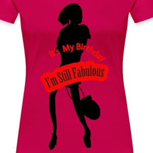It's My Birthday - Women's Premium T-Shirt