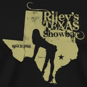 RILEY'S TEXAS SHOWBAR - Men's Premium T-Shirt