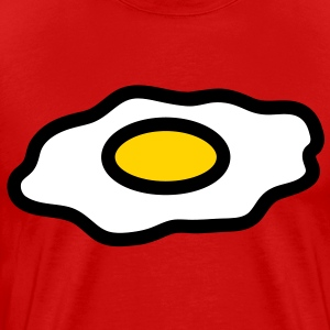 fried_egg_3c T-Shirts - Men's Premium T-Shirt