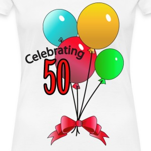 Celebrating 50 - Women's Premium T-Shirt
