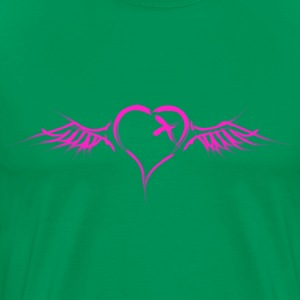 Flying Heart - Men's Premium T-Shirt