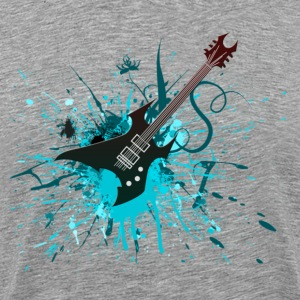 Electric Guitar Graffiti - Men's Premium T-Shirt