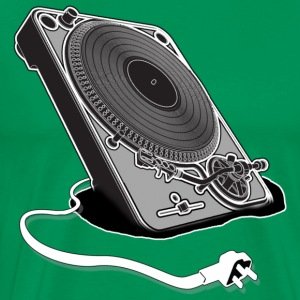 Turntable Plug - Men's Premium T-Shirt