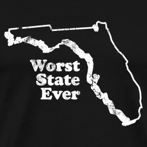 FLORIDA - WORST STATE EVER T-Shirts - Men's Premium T-Shirt