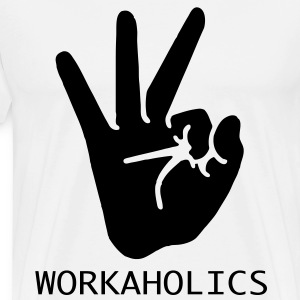 workaholics T-Shirts - Men's Premium T-Shirt