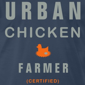 Urban Chicken Farmer - Men's Premium T-Shirt