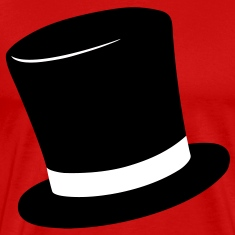 Top Hat T-Shirts