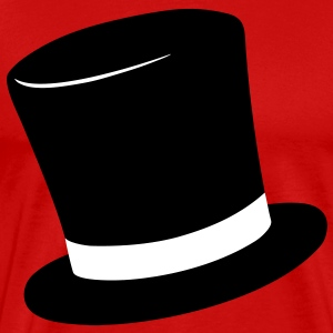 Top Hat T-Shirts - Men's Premium T-Shirt