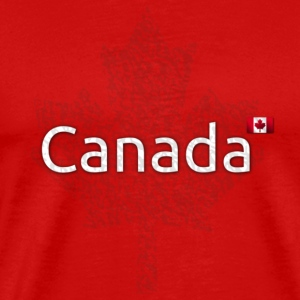 Canada Maple Leaf Men's T - Men's Premium T-Shirt