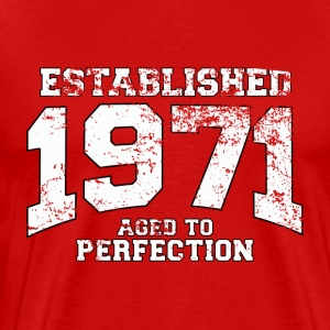 established_1971 T-Shirts - Men's Premium T-Shirt
