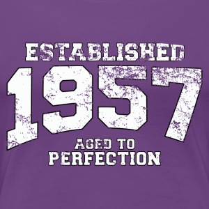 established_1957 Women's T-Shirts - Women's Premium T-Shirt