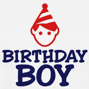 Birthday Boy 3 (2c)++ T-Shirts - Men's Premium T-Shirt