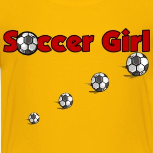 Soccer Girl - Kids' Premium T-Shirt