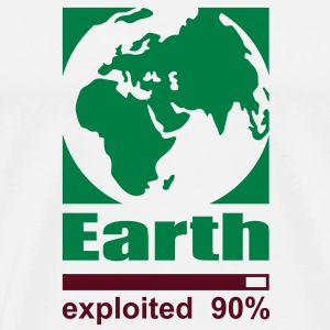 Earth exploited T-Shirts - Men's Premium T-Shirt