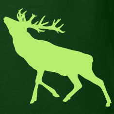 Deer Stag alone T-Shirts