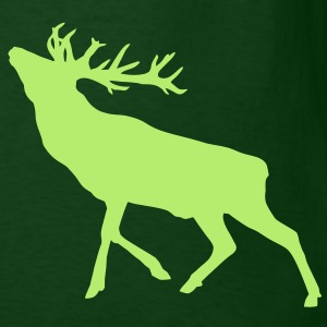 Deer Stag alone T-Shirts - Men's T-Shirt