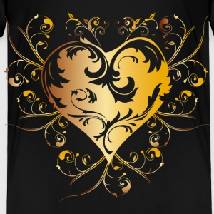 heart - yellow Baby & Toddler Shirts - Toddler Premium T-Shirt
