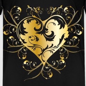 heart - gold Baby & Toddler Shirts - Toddler Premium T-Shirt