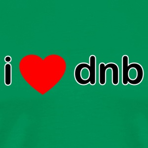 I Love DNB - Men's Premium T-Shirt