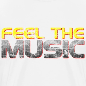 Feel The Music - Men's Premium T-Shirt