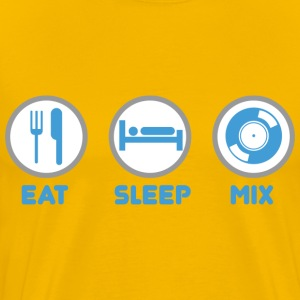 Eat Sleep Mix - Men's Premium T-Shirt