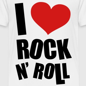 I Love Rock N Roll Baby & Toddler Shirts - Toddler Premium T-Shirt