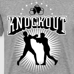Boxing Knockout T-Shirts - Men's Premium T-Shirt