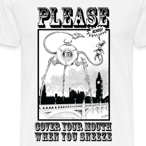 Please cover your mouth when you sneeze - Men's Premium T-Shirt