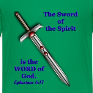 Kid's Tee - The Sword of the Spirit - Kids' Premium T-Shirt