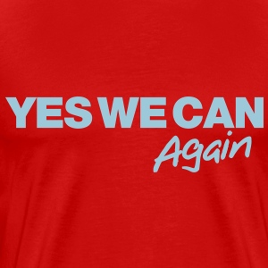 Yes we can again - Men's Premium T-Shirt