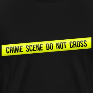 Crime Scene Do Not Cross - Men's Premium T-Shirt