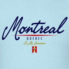 Montreal Script Heavyweight T-Shirt