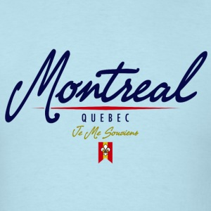 Montreal Script Heavyweight T-Shirt - Men's T-Shirt
