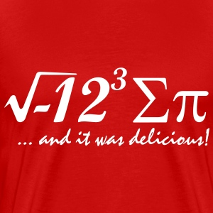 i eight sum pi T-Shirts - Men's Premium T-Shirt