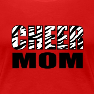 Cheer Mom Women's T-Shirts - Women's Premium T-Shirt