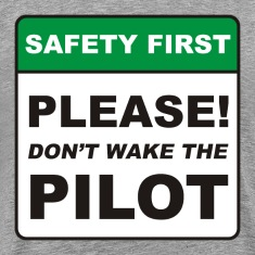Please, don't wake the Pilot!