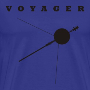 Voyager Space Probe  - Men's Premium T-Shirt
