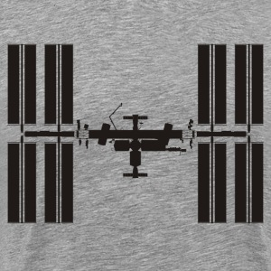 Space Station - Men's Premium T-Shirt