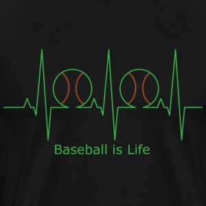 Baseball is Life - Men's Premium T-Shirt