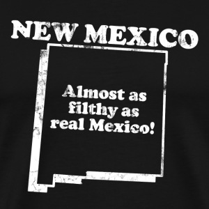 NEW MEXICO STATE SLOGAN T-Shirts - Men's Premium T-Shirt